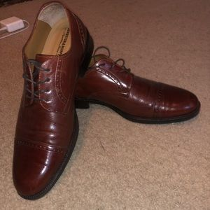 Johnston & Murphy Brown Dress Shoes